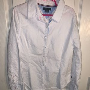 Girls Tommy Hilfiger Button Down Size 7
